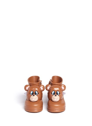 Figure View - Click To Enlarge - Melissa - x Jeremy Scott 'Monkey' inflation appliqué toddler boots