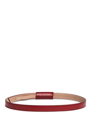 Back View - Click To Enlarge - AZZEDINE ALAÏA - 'Arabesque' stud leather belt
