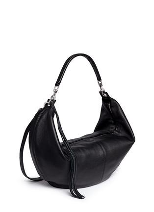 Front View - Click To Enlarge - Rebecca Minkoff - 'Julian' half moon hobo crossbody bag