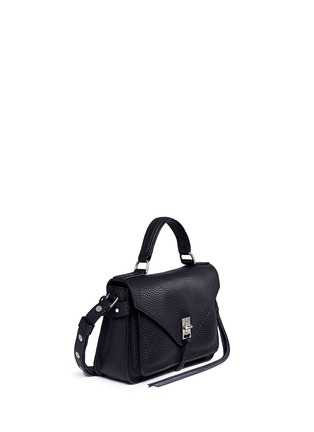 Front View - Click To Enlarge - Rebecca Minkoff - 'Darren' small pebbled leather satchel