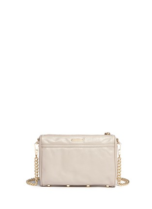 Back View - Click To Enlarge - Rebecca Minkoff - 'M.A.C.' mini leather crossbody bag
