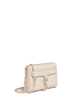 Front View - Click To Enlarge - Rebecca Minkoff - 'M.A.C.' mini leather crossbody bag