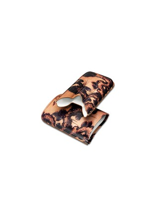 Detail View - Click To Enlarge - Siglo Accessory - Tattoo leather cigar case