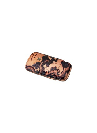 Main View - Click To Enlarge - Siglo Accessory - Tattoo leather cigar case