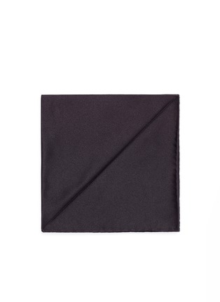 Main View - Click To Enlarge - Armani Collezioni - Silk satin pocket square