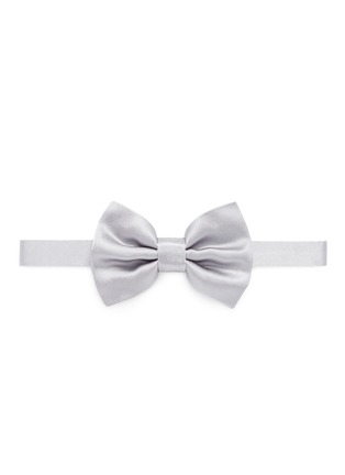 Main View - Click To Enlarge - ARMANI COLLEZIONI - Silk satin bow tie