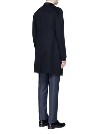 Back View - Click To Enlarge - Armani Collezioni - Cashmere flannel coat