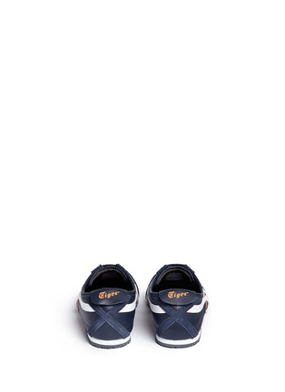 Back View - Click To Enlarge - Onitsuka Tiger - 'Mexico 66' stripe leather sneakers