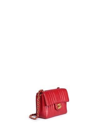 Figure View - Click To Enlarge - Vintage Chanel - Quilted caviar leather mini flap bag