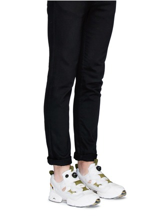 Figure View - Click To Enlarge - Reebok - 'InstaPump Fury OG SYN' slip-on sneakers
