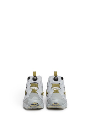 Front View - Click To Enlarge - Reebok - 'InstaPump Fury OG SYN' slip-on sneakers