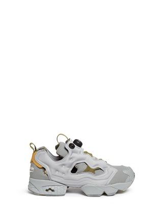 Main View - Click To Enlarge - Reebok - 'InstaPump Fury OG SYN' slip-on sneakers