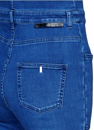 Detail View - Click To Enlarge - Stella McCartney - Medium wash denim dungarees