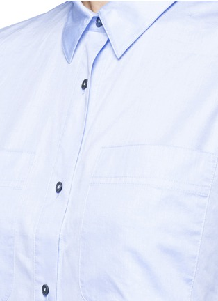 Detail View - Click To Enlarge - T By Alexander Wang - Cotton poplin shirt