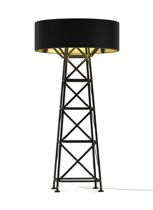 Main View - Click To Enlarge - Moooi - Construction large aluminium floor lamp