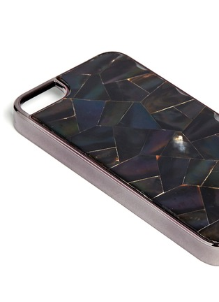 Detail View - Click To Enlarge - RAFÉ - Shell inlay iPhone 5/5s case