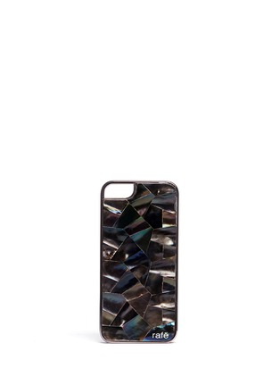 Main View - Click To Enlarge - RAFÉ - Shell inlay iPhone 5/5s case