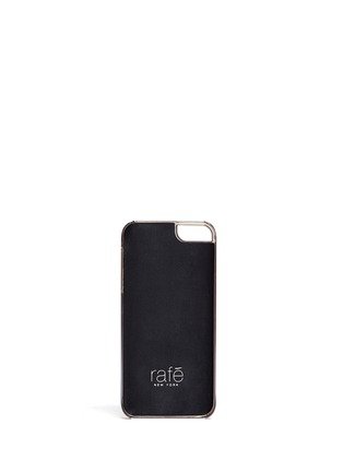 Figure View - Click To Enlarge - RAFÉ - Shell inlay iPhone 5/5s case