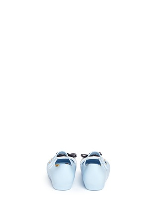 Back View - Click To Enlarge - Melissa - x Disney 'Ultragirl' bow toddler Mary Jane flats