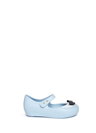 Main View - Click To Enlarge - Melissa - x Disney 'Ultragirl' bow toddler Mary Jane flats