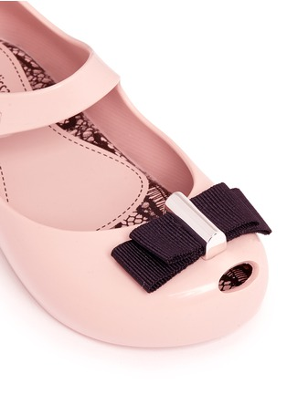 Detail View - Click To Enlarge - Melissa - x Jason Wu 'Ultragirl' bow toddler Mary Jane flats