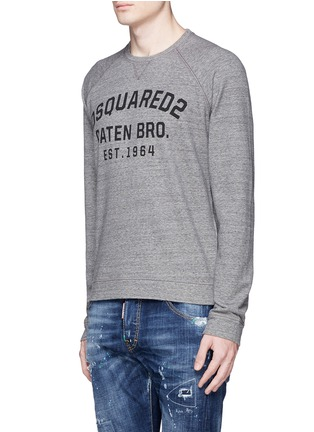 Front View - Click To Enlarge - Dsquared2 - Logo print sweatshirt
