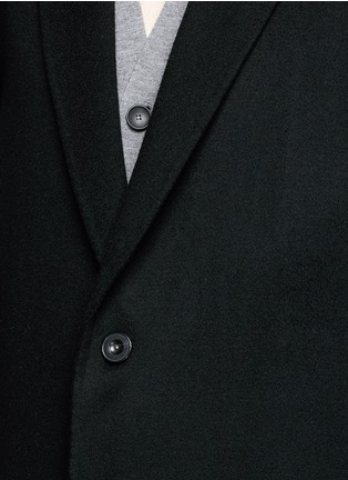 Detail View - Click To Enlarge - ACNE STUDIOS - 'Charles' wool-cashmere coat