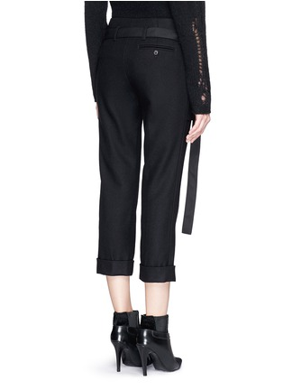 Back View - Click To Enlarge - 3.1 Phillip Lim - Apron front stitch down cuff pants