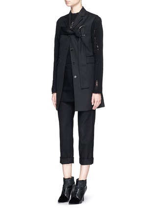 Figure View - Click To Enlarge - 3.1 Phillip Lim - Apron front stitch down cuff pants