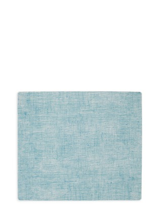 Main View - Click To Enlarge - MODERN-TWIST - Linen silicone placemat