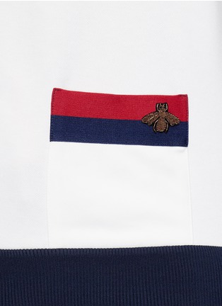 Detail View - Click To Enlarge - Gucci - Bee embroidery track jacket