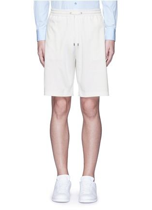 Main View - Click To Enlarge - Gucci - Bee embroidery track shorts