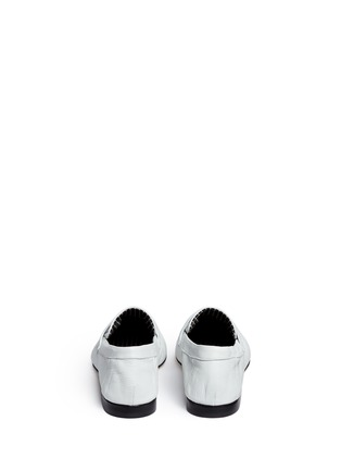 Back View - Click To Enlarge - Robert Clergerie - 'Zemoc' leather penny loafers