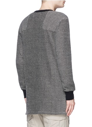 Back View - Click To Enlarge - NLST - Bouclé knit sweater
