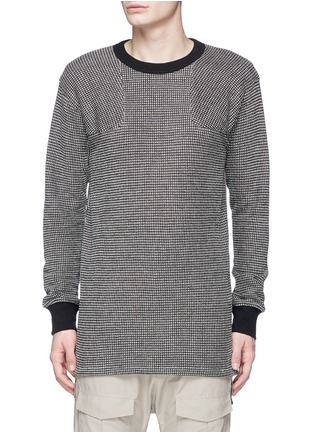 Main View - Click To Enlarge - NLST - Bouclé knit sweater