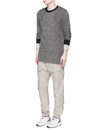 Figure View - Click To Enlarge - NLST - Bouclé knit sweater