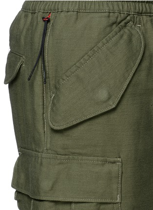 Detail View - Click To Enlarge - NLST - Cotton cargo shorts