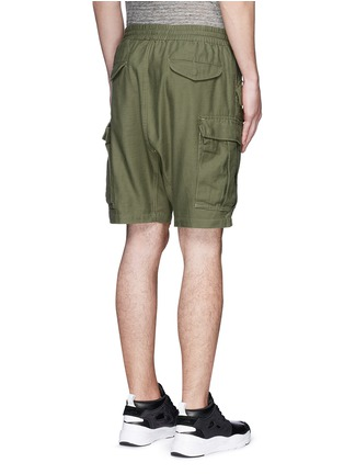 Back View - Click To Enlarge - NLST - Cotton cargo shorts