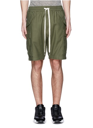 Main View - Click To Enlarge - NLST - Cotton cargo shorts