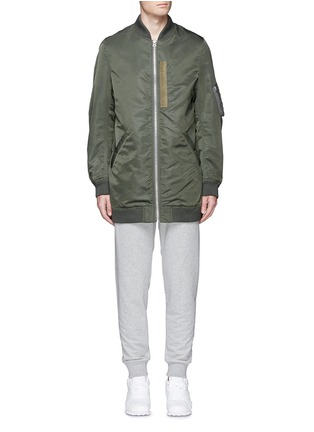 Main View - Click To Enlarge - NLST - Oversized flight jacket