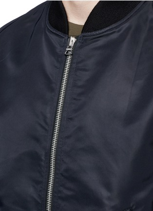 Detail View - Click To Enlarge - NLST - 'MA-1' flight jacket