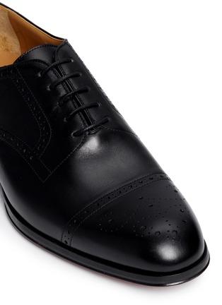 Detail View - Click To Enlarge - Rolando Sturlini - 'Alameda' Richelieu brogue leather Oxfords