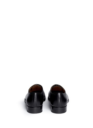 Back View - Click To Enlarge - Rolando Sturlini - 'Alameda' Richelieu brogue leather Oxfords