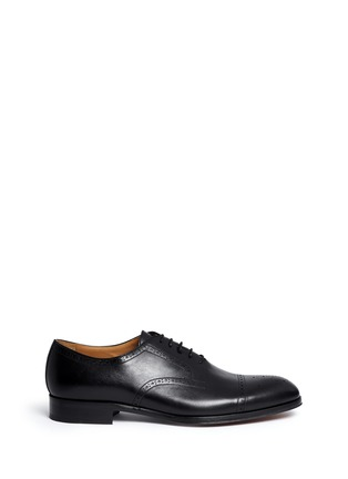 Main View - Click To Enlarge - Rolando Sturlini - 'Alameda' Richelieu brogue leather Oxfords