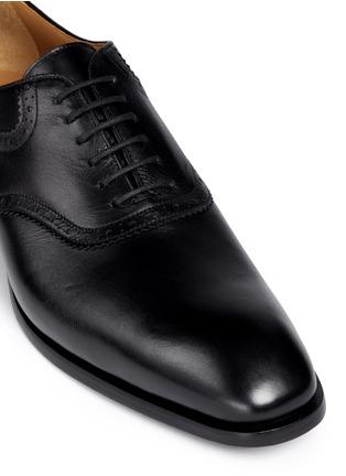 Detail View - Click To Enlarge - Rolando Sturlini - 'Parma' brogue detail leather Oxfords