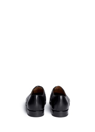 Back View - Click To Enlarge - Rolando Sturlini - 'Parma' brogue detail leather Oxfords
