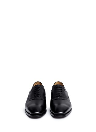 Front View - Click To Enlarge - Rolando Sturlini - 'Parma' brogue detail leather Oxfords