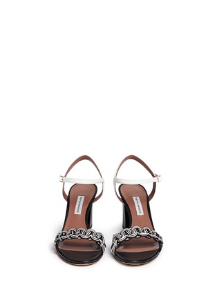 Front View - Click To Enlarge - TABITHA SIMMONS - 'BOP' braided leather sandals