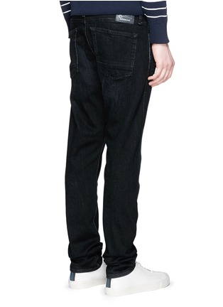 Back View - Click To Enlarge - DENHAM - 'Cross' carrot fit jeans