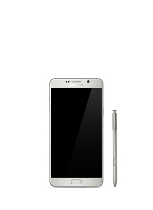 Main View - Click To Enlarge - SAMSUNG - Galaxy Note5 32GB - White Pearl